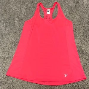 Bright Pink Old Navy Active Racer Back Gym Top SzM